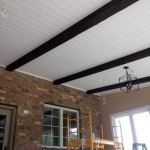 Marvin NC Addition - Cedar Beams in Ceiling