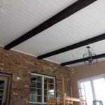 Marvin NC Addition - Cedar Beams in Ceiling