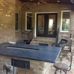 Textures in Marvin NC Outdoor Kitchen Remodel