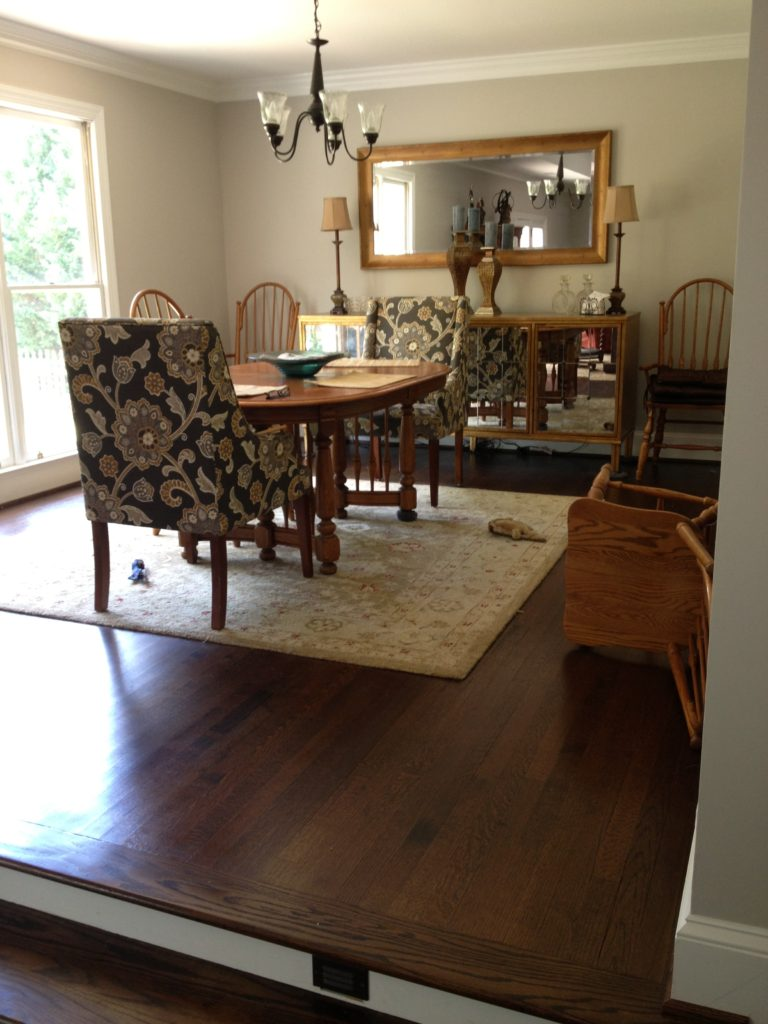 Whole Home Renovations Contractor with New Dining Room