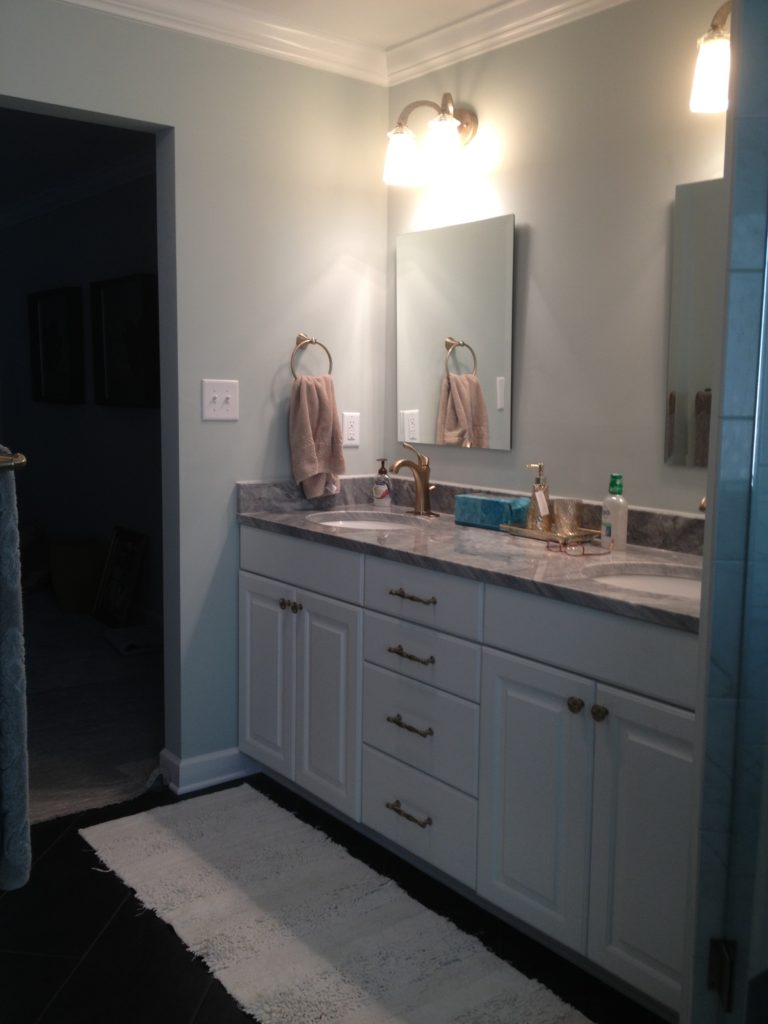 Whole Home Renovations Contractor with Master Bathroom