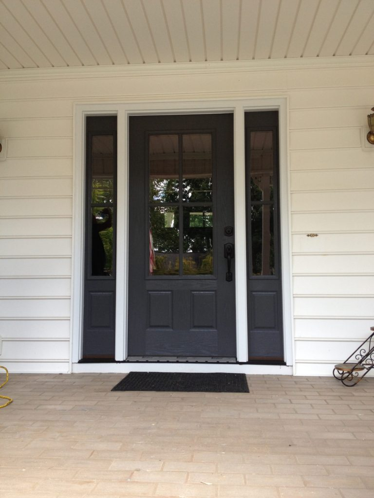 Whole Home Renovations Contractor with New Front Door