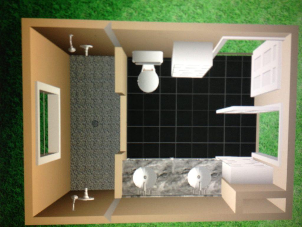 Bathroom Remodel 3D Render