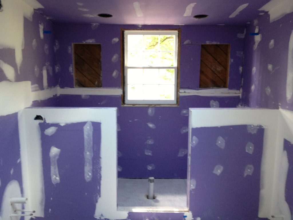 During Bathroom Remodeling in Charlotte