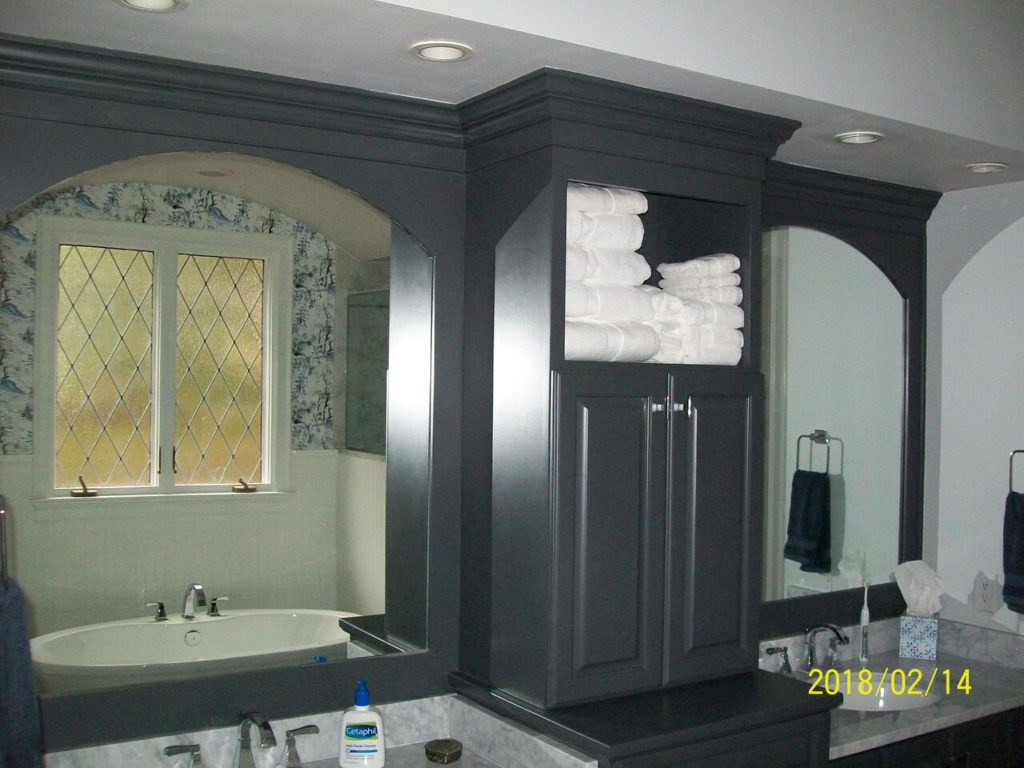 Upper Cabinets for Bathroom Remodel
