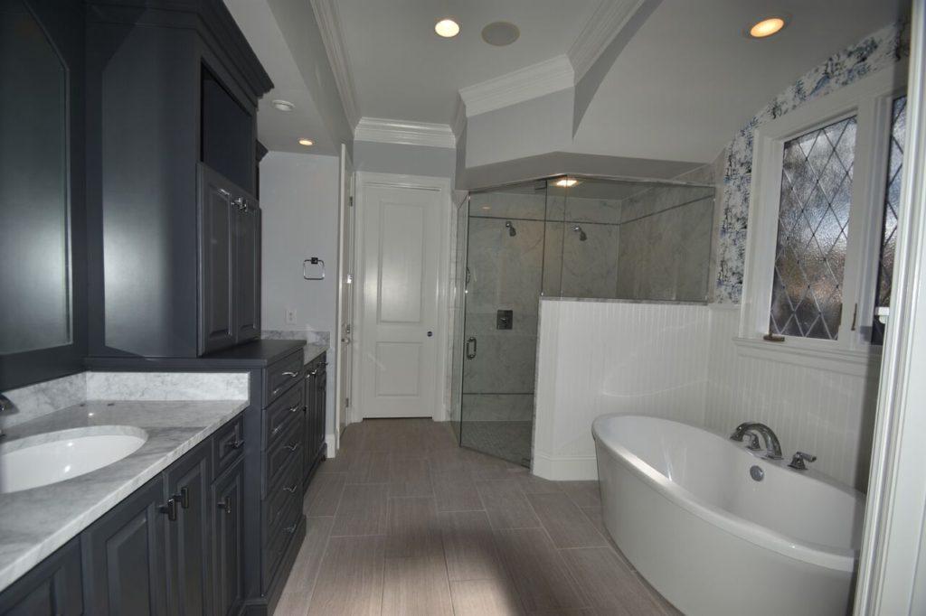 After Charlotte Bathroom Remodel