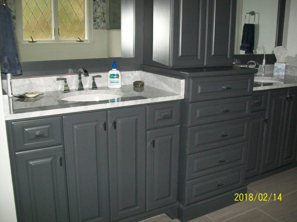 Lower Cabinets for Bathroom Remodel