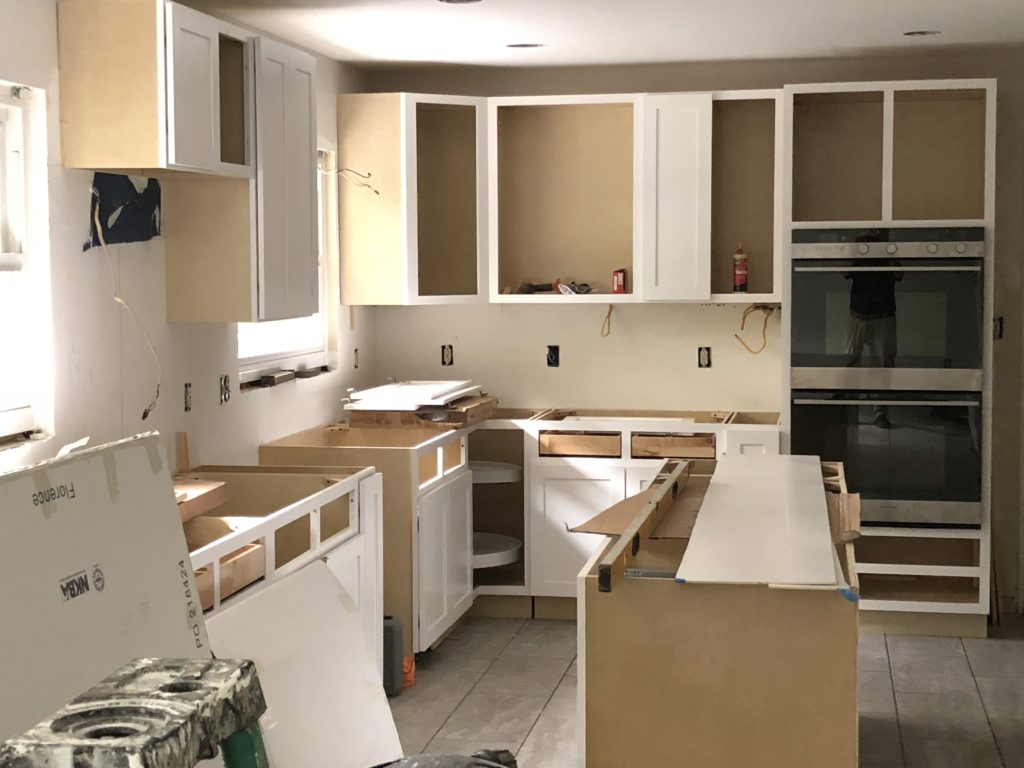 Ditra Under Flooring Membrane for New Charlotte Kitchen