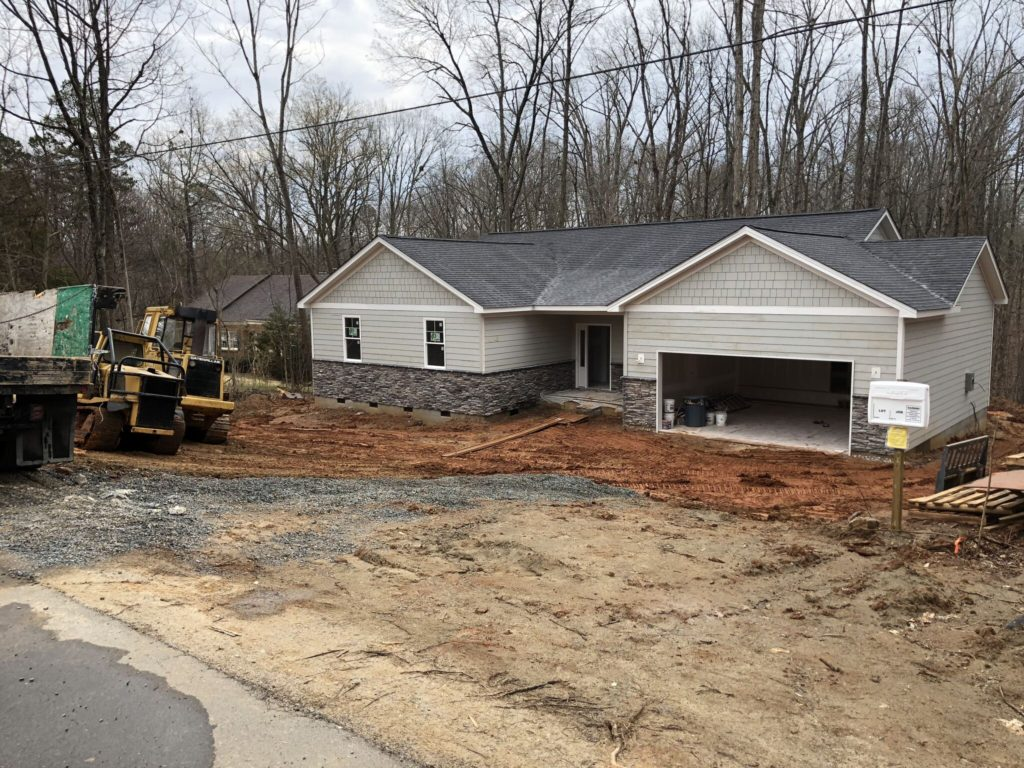 Charlotte Custom Home Builder Siding Installation