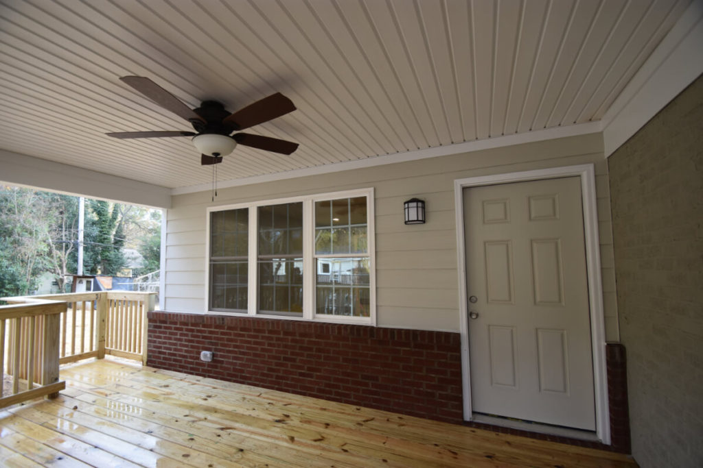 South Charlotte New Porch for Addition