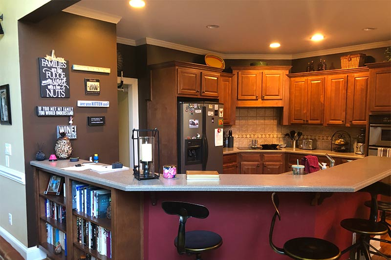 Before Kitchen Remodeler in Charlotte