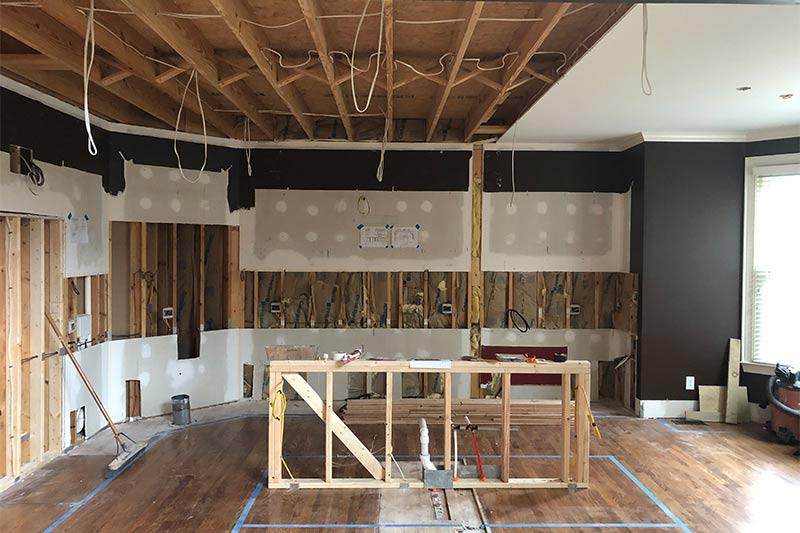 During Charlotte Kitchen Remodeling